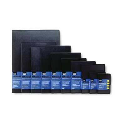 "8-1/2""x11"" Presentation Book Black Art Profolio Evolution with 24 Pages"