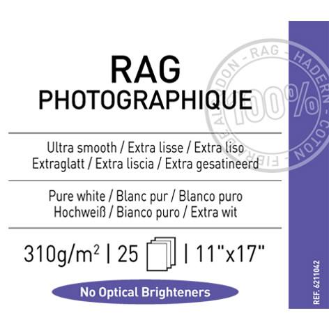 "11"" x 17"" Infinity Rag Photographique Matte - 310 gsm - 25 Sheets"