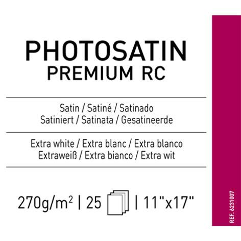 "11"" x 17"" Infinity PhotoSatin Premium RC - 270 gsm - 25 Sheets"