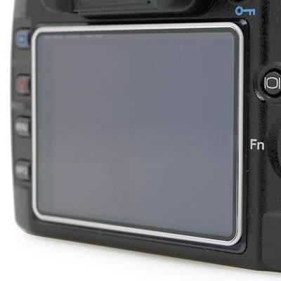 Polycarbonate LCD Screen Cover Nikon D90