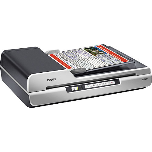 Epson gt 1500 workforce scanner flatbed b11b190011 for Epson gt 1500 document scanner