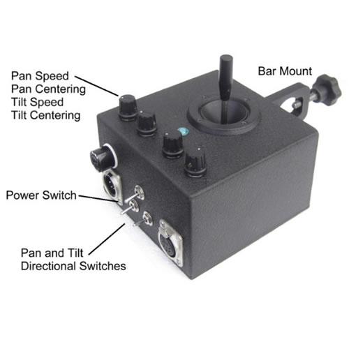 Ez fx ez remote motorized pan tilt head 25 lbs capacity for Pan and tilt head motorized
