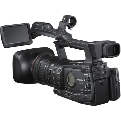 XF300 HD Camcorder w/18x HD L-Series Lens