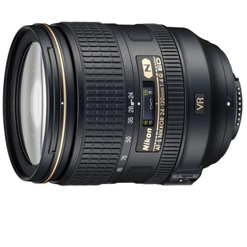 AF-S NIKKOR 24-120mm f/4.0 G ED VR Lens