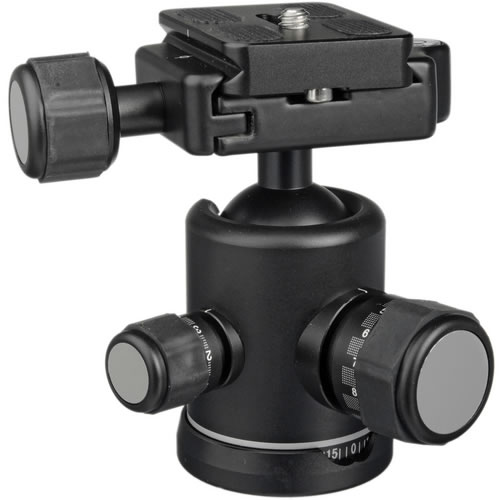 B0 B-Series Double Action Ball Head Arca-Swiss for Benro 0 and 1 Series Tripods