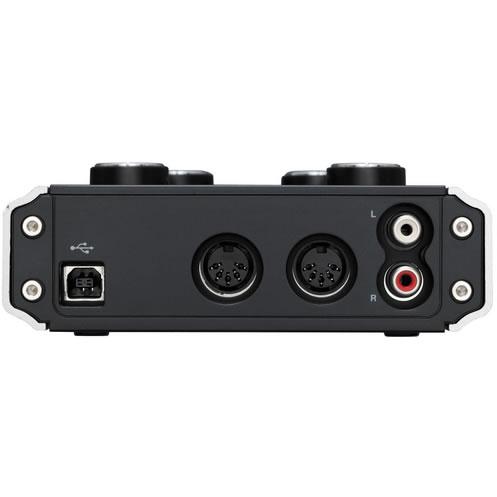 tascam usb 2 0 audio interface 2 xlr microphone inputs with phantom power tripod heads us. Black Bedroom Furniture Sets. Home Design Ideas
