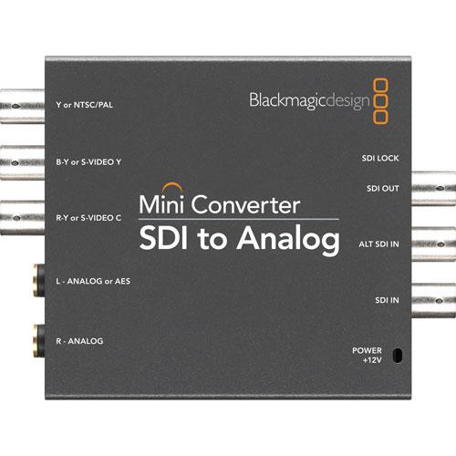 Mini Converter SDI to Analog (PS Included)