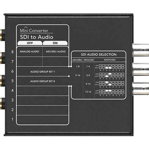 SDI-Audio Mini Converter