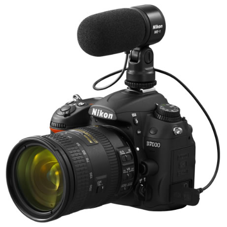 ME-1 Stereo Microphone for any Nikon DSLR w/ 3.5mm Mic Jack
