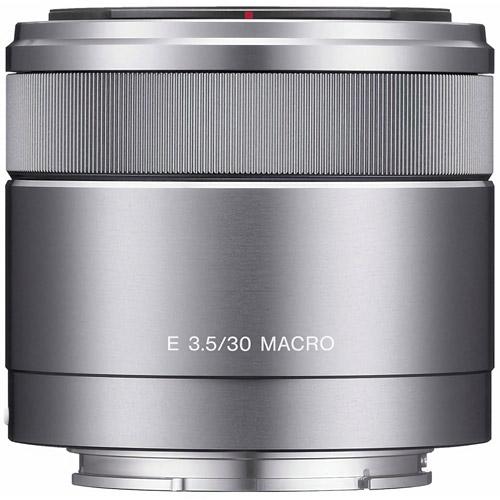 SEL 30mm f/3.5 Macro E-Mount Lens