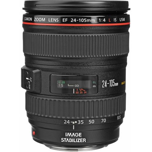 EF 24-105mm f/4.0L IS USM Zoom Lens - Open Box