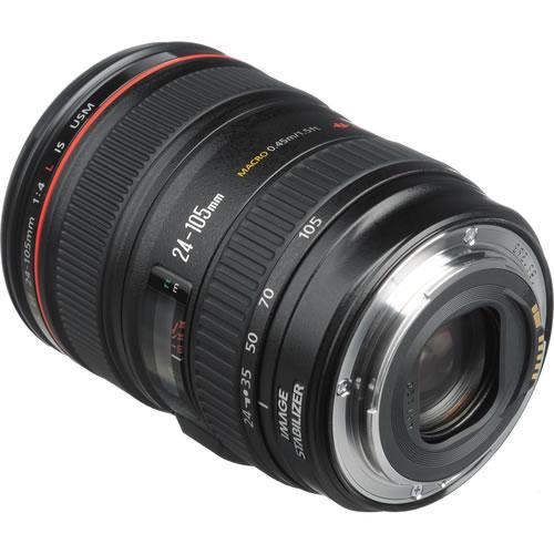 EF 24-105mm f/4.0L IS USM Zoom Lens - White Box