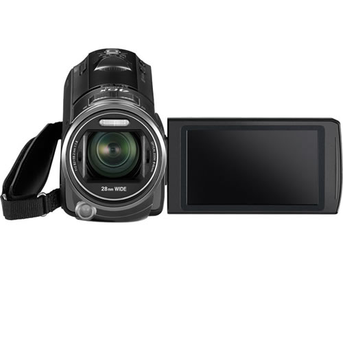 HCV700MK 16GB Flash Memory+SD Camcorder Black
