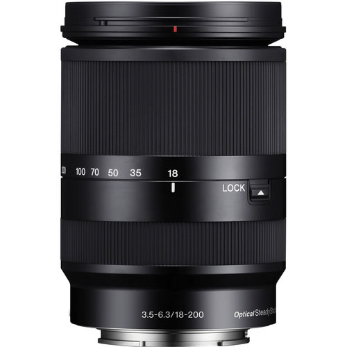 SEL 18-200mm f/3.5-6.3 LE OSS E-Mount Lens