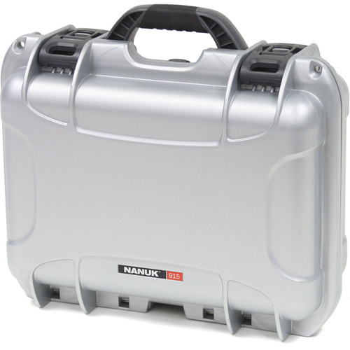 915 Case w/ foam - Silver