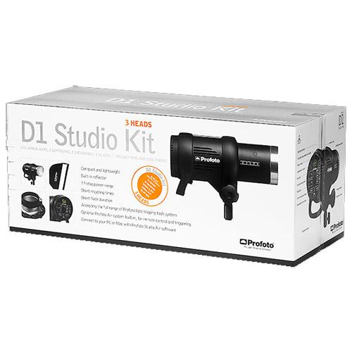 Profoto Studio Lighting Kit: Profoto D1 Studio Kit 500/1000/1000 Air Self-Contained