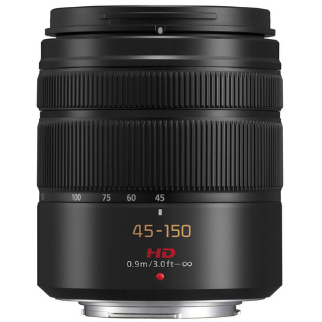 Lumix G Vario 45-150mm f/4.0- 5.6 ASPH Mega OIS Lens