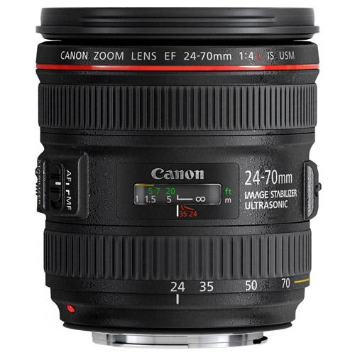 EF 24-70mm f/4.0L IS USM Standard Zoom Lens