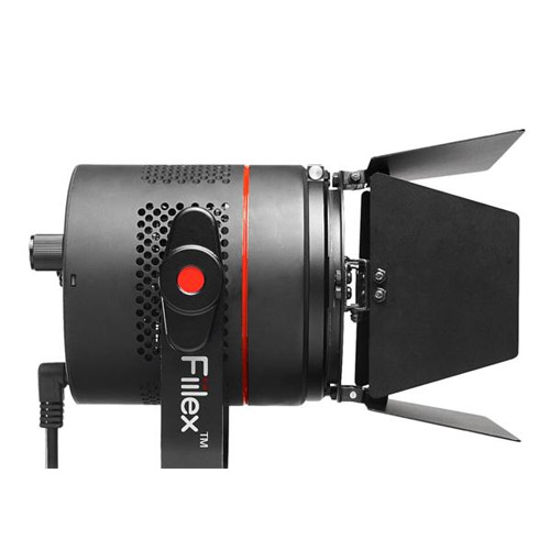 P360 LED Light with Barn Door 3000-5600K Flicker Free