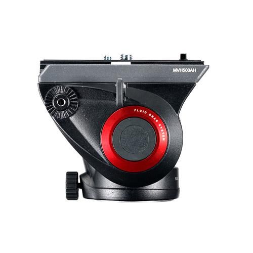 MVH500AH Fluid Video Head Flat Base with Sliding Plate