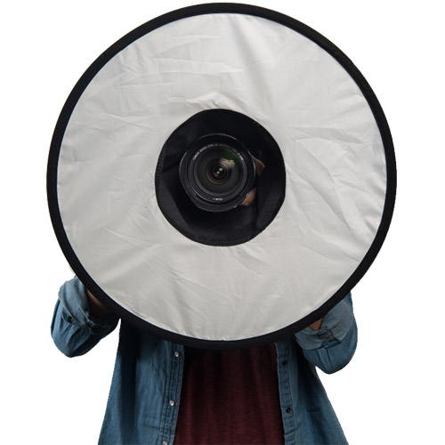 Ring Flash Collapsible Softbox