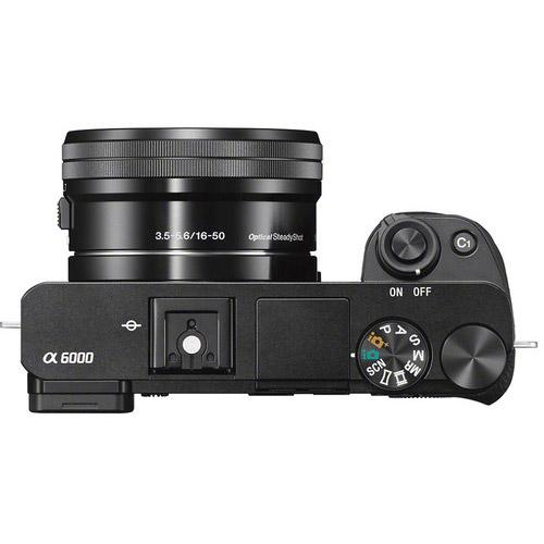 Alpha A6000 Mirrorless Black Kit w/ 16-50mm Power Zoom Lens