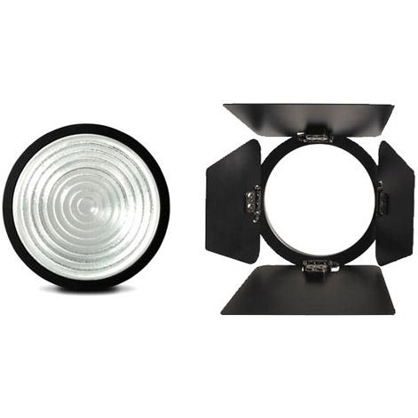 Fiilex P2q Converter Kit W5 Glass Fresnel Lens Barndoors Video