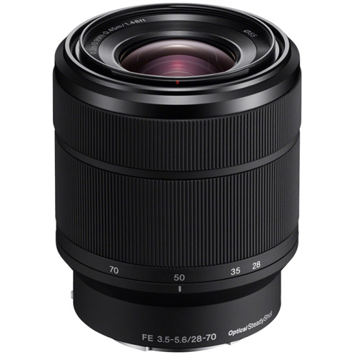 Alpha A7II Mirrorless Kit w/ FE 28-70mm f/3.5-5.6 OSS Lens
