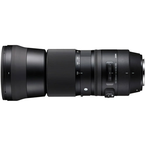 Contemporary 150-600mm f/5.0-6.3 DG OS HSM Lens for Canon
