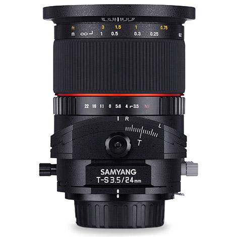 24mm f3.5 Tilt-Shift Lens Canon EF mount