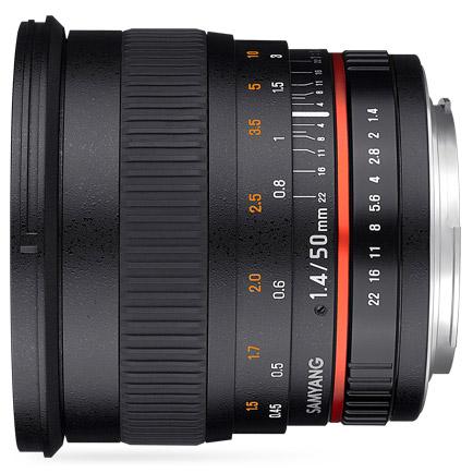 50mm f1.4 AS UMC Canon EF mount