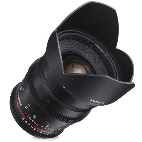 24mm T1.5  ED AS IF VDRSLR II Canon EF mount, Cine Lens
