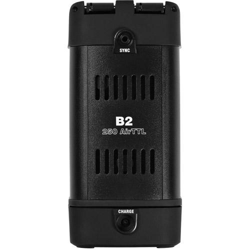 B2 250 AirTTL To-Go Kit 1xB2 250 Pack, 1xB2 Head, 1 x Battery