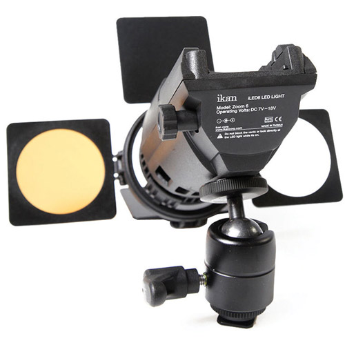 Ikan ILED6 Zoom ENG LED Light On Camera LED Lights