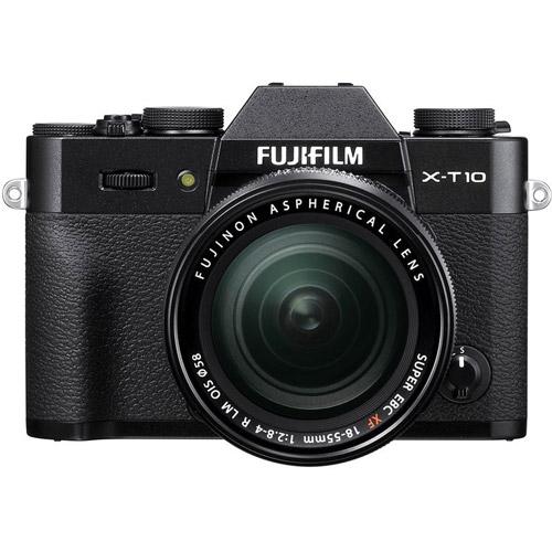 Fuji Fujifilm X-T10 Black Body DSLR Cameras 600015523 ...