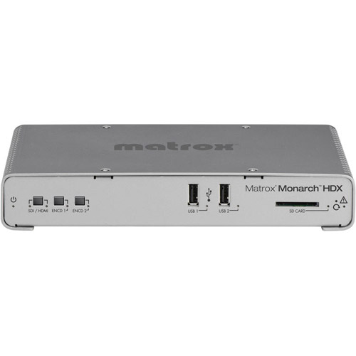 MHDX/I Monarch HDX Dual Channel H.264 Encoder