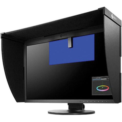 "CG248-4K-BK 23.8"" UHD-4K LED 3840x2160, IPS, DP(4K/60p), 99"" Adobe RGB, Bundled with Hood"