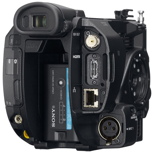 PXW-FS5 4K Compact Super35 CMOS Sensor XDCAM Camcorder - Body Only