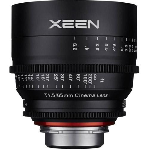 Xeen 85mm T1.5 Canon CINE mount