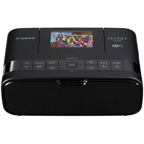SELPHY CP1200 Compact Photo Printer (Black)