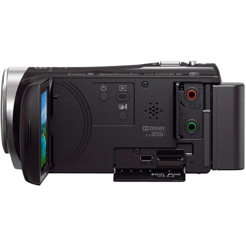 HDRCX455B Full HD Handycam Camcorder with 8GB Internal Memory
