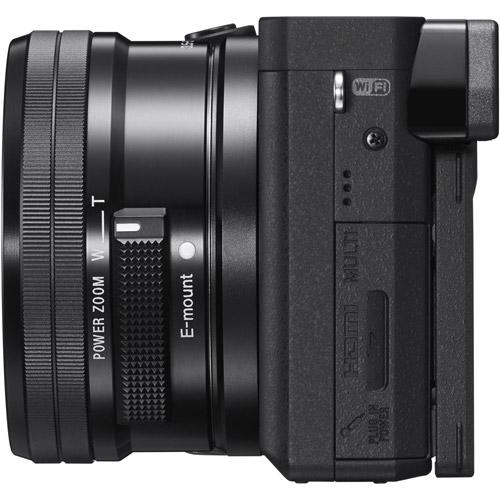 Alpha A6300 Mirrorless Black Kit w/ 16-50mm Power Zoom Lens