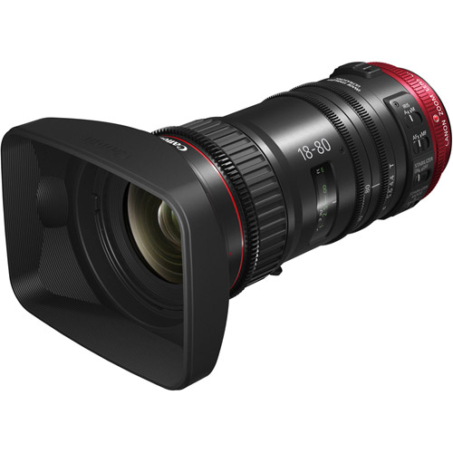 CN-E 18-80mm T4.4 L IS EF Mount
