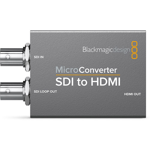 Micro Converter - SDI to HDMI (with Power Supply)