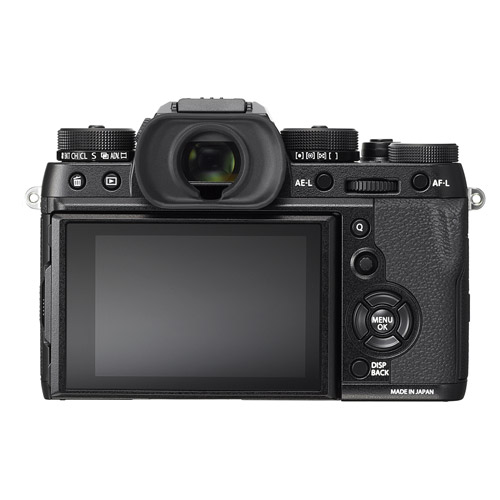 Fujifilm X-T2 Mirrorless Body Black