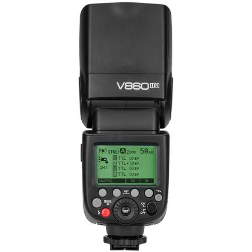 V860 II Flash Kit -Nikon includes Li-On Battery, Charger, Case
