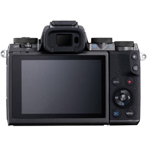 EOS M5 Mirrorless Camera with 15-45 Kit