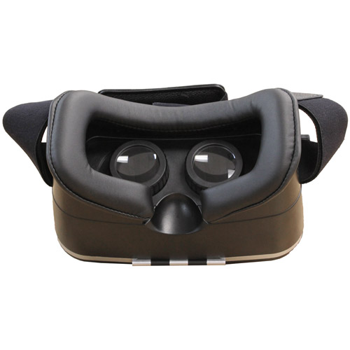 vr kix virtual reality headset for smartphones black vrkix1 c