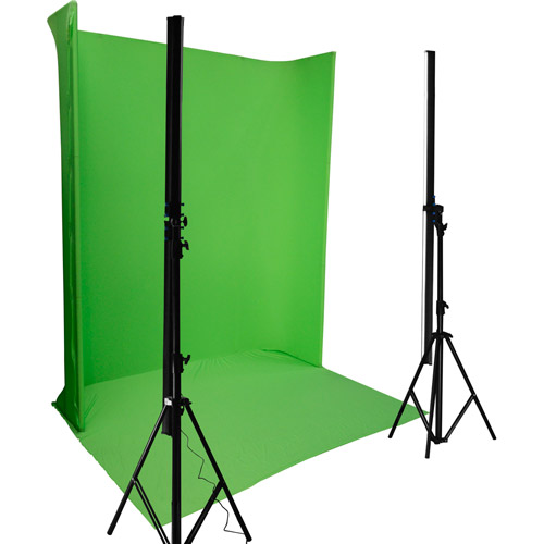 LG-1822U Green Screen Background Kit 1.8 m x 2.2 m