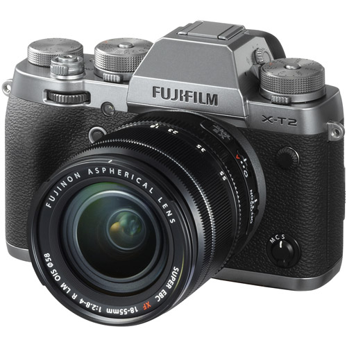 Fujifilm X-T2 Mirrorless Body Graphite Silver